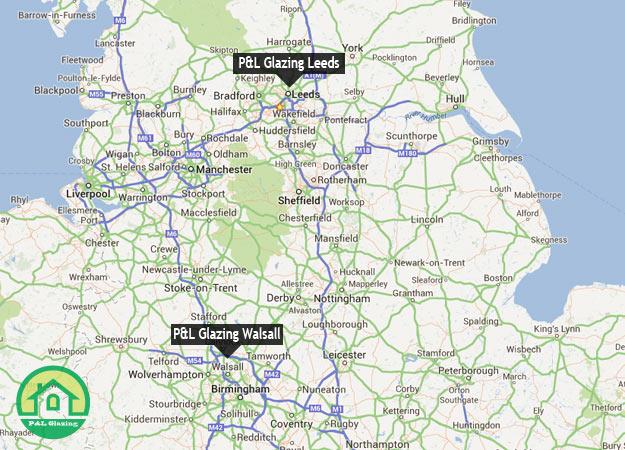 P&L Glazing Leeds P&L Glazing Walsall